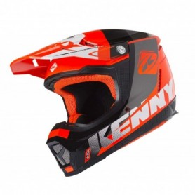 Casque cross KENNY Performance Neon Orange