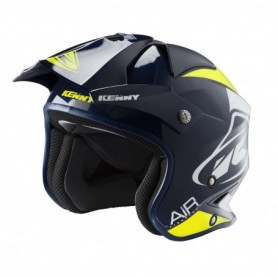 Casque Trial KENNY Trial Air Navy Neon Yellow