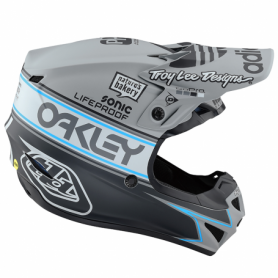 Casque cross TROY LEE DESIGNS Se4 Polyacrylite Team Edition 2 Youth