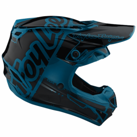Casque cross TROY LEE DESIGNS Se4 Polyacrylite Factory Ocean Youth