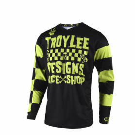Maillot Cross TROY LEE DESIGNS Youth GP Race Shop 5000 Lime 19
