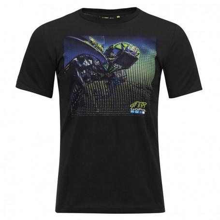 T Shirt VR46 GO PRO Black