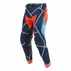 Pantalon Cross TROY LEE DESIGNS Se Metric Navy Orange 19
