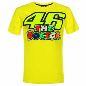 T Shirt VR46 The Doctor Yellow 2