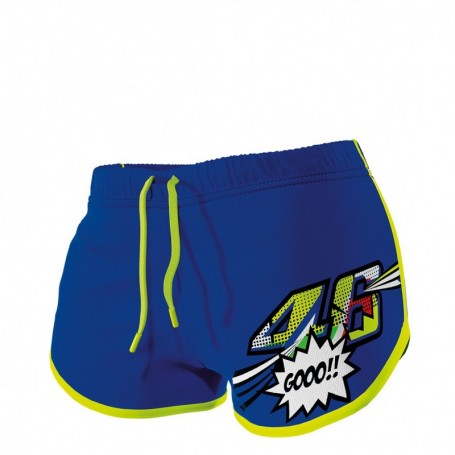 Short VR46 Pop Art Blue