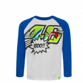 T Shirt VR46 Pop Art Blue Youth