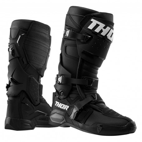 Bottes moto cross THOR Radial Black