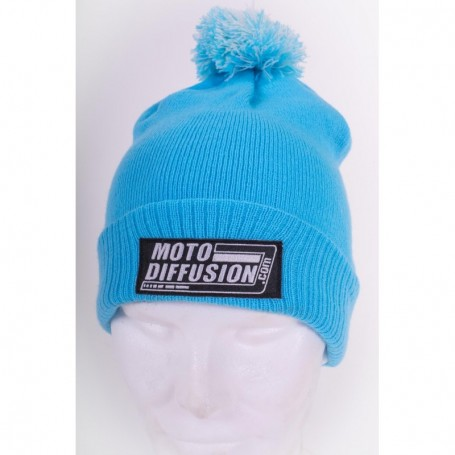 Bonnet Officiel MOTO DIFFUSION Bleu