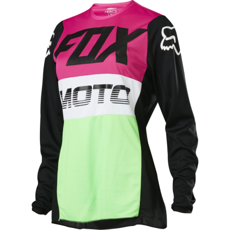 Maillot Cross FOX 180 Fyce Multicolor Womens 20