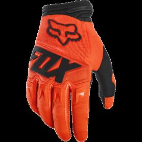 Gants Moto Cross FOX Youth Dirtpaw Flo Orange Black 20