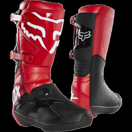 Bottes Moto Cross FOX Comp Flam Red