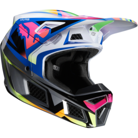 Casque cross FOX V3 Idol Multicolor 20