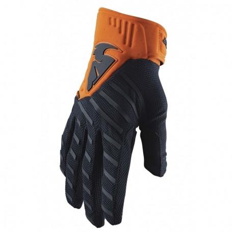 Gants Moto Cross THOR Rebound Midnight Orange