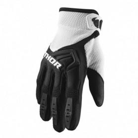 Gants Moto Cross THOR Spectrum Black White 21