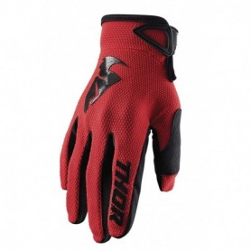 Gants Moto Cross THOR Youth Sector Red