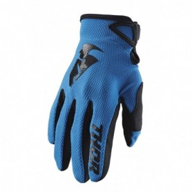 Gants Moto Cross THOR Youth Sector Blue