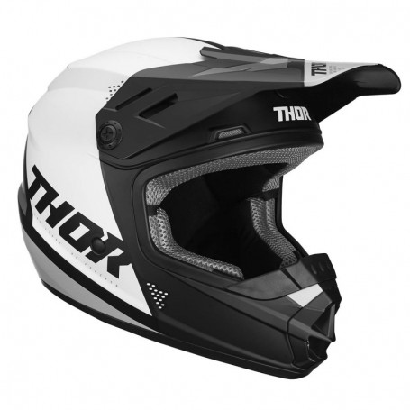 Casque cross THOR Youth Sector Blade Matte Black White