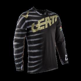 maillot-cross-leatt-gpx-55-ultraweld-zebra-noir-dore