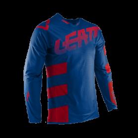 maillot-cross-leatt-gpx-55-ultraweld-royal-bleu-rouge