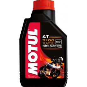 Huile MOTUL 7100 4T 10w50 100 % Synthèse 1 Litre