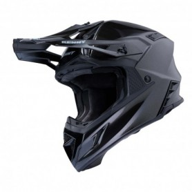 Casque cross KENNY Trophy Solid Glossy Black Metalic