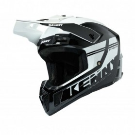 Casque cross KENNY Performance Black And White