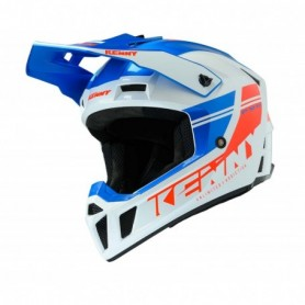 Casque cross KENNY Performance Blue White Red