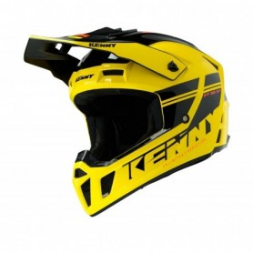 Casque cross KENNY Performance Yellow Black