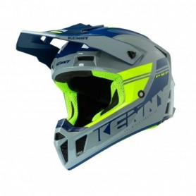 Casque cross KENNY Performance Grey Neon Yellow