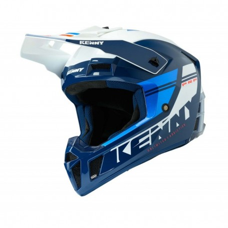 Casque cross KENNY Performance Blue Candy Navy
