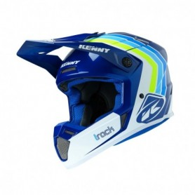 Casque cross KENNY Track Victory White Blue