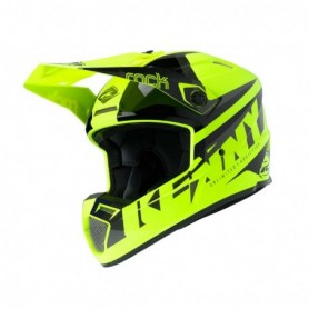 Casque cross KENNY Track Focus Neon Yellow 20
