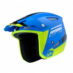 Casque Trial KENNY Trial Up Blue Neon Yellow