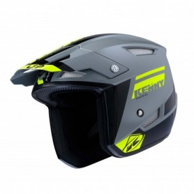 Casque Trial KENNY Trial Up Grey Neon Yellow