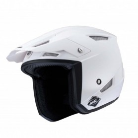 Casque Trial KENNY Trial Up Solid White