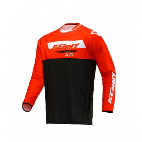 Maillot Trial KENNY Trial Air Red Black 20