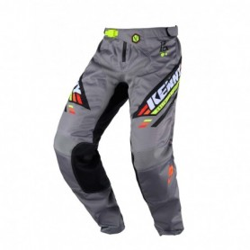 Pantalon Cross KENNY Track Kid Victory Black Grey Orange 20