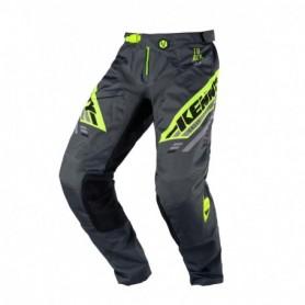 Pantalon Cross KENNY Track Kid Victory Charcoal Neon Yellow 20