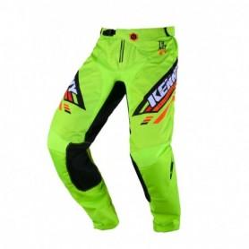 Pantalon Cross KENNY Track Kid Victory Lime Black 20