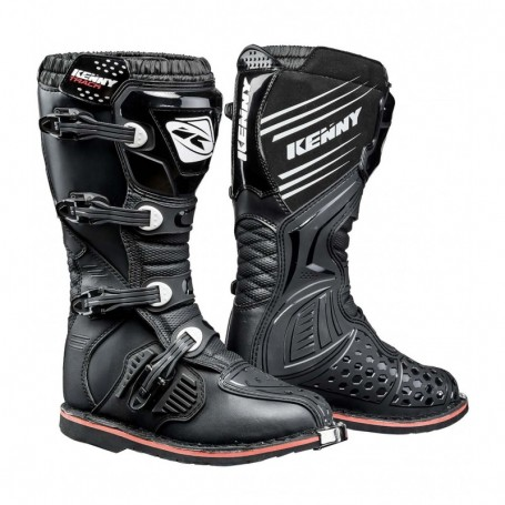 Bottes Moto Cross KENNY Track Black