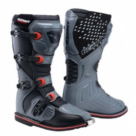 Bottes Moto Cross KENNY Track Grey Red