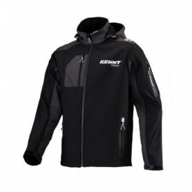 Veste KENNY Softshell Racing Black