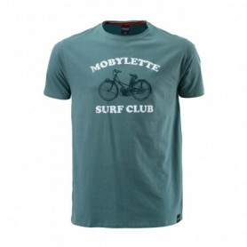 T Shirt PULL IN Mobylette Green