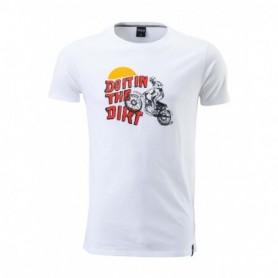 T Shirt PULL IN Dirt White