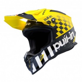 Casque cross PULL IN Master Yellow 20