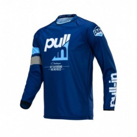 Maillot Cross PULL IN Challenger Kid Race Navy Cyan 20