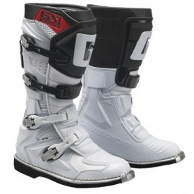Bottes Moto Cross GAERNE GX1 Goodyear White