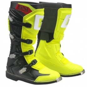 Bottes Moto Cross GAERNE GX1 Goodyear Yellow