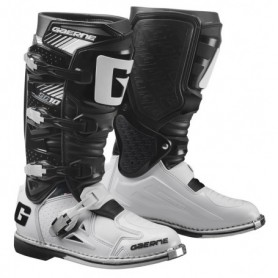 Bottes Moto Cross GAERNE SG10 Black White
