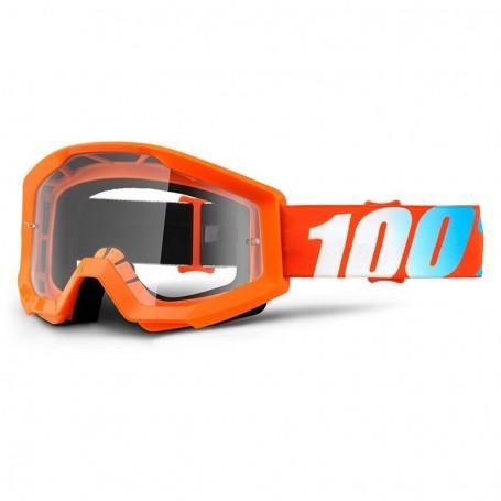 Masque Cross 100% Strata Orange Clair